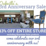 Oakville's 3rd Anniversary SALE | Saturday, July 18th 13% OFF THE ENTIRE STORE!