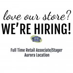 We're Hiring Full Time Retail Associate/Stager | Aurora
