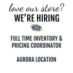 We're Hiring Full Time Inventory and Pricing Coordinator | Aurora