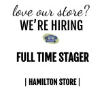 Join our team! We're hiring Full Time Stager Hamilton location