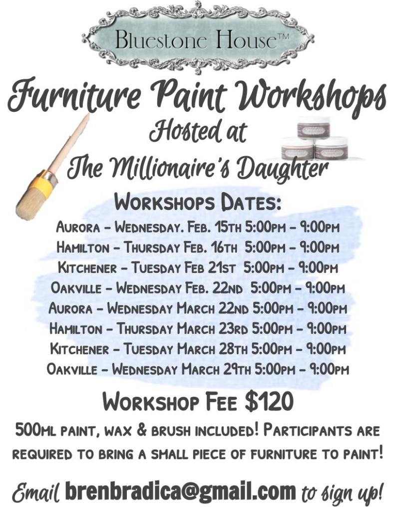 Furniture Paint Workshops (1)