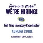 We're Hiring Full Time in Aurora!