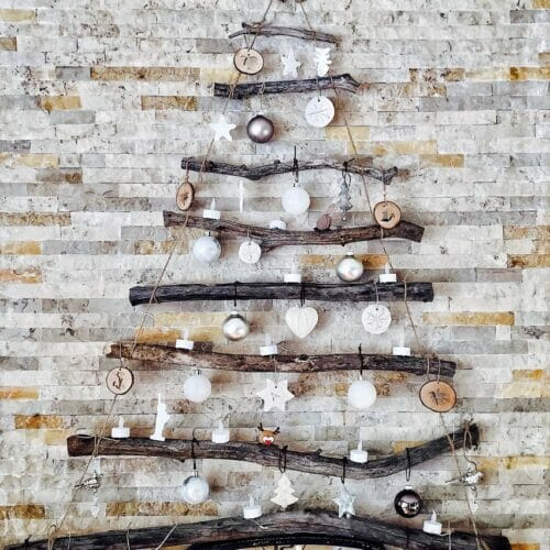 photo of decorations on the wall
